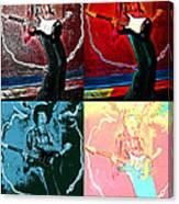 Jimmy Hendrix Pop Canvas Print
