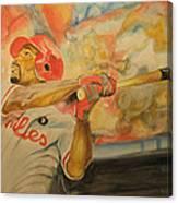 Jimmy Rollins Canvas Print