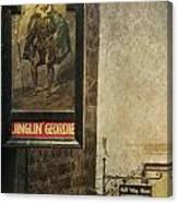 Jinglin' Geordie Canvas Print