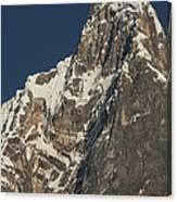 Jirishanca 6090m From Carhuacocha Lake Canvas Print