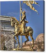 Joan Of Arc Statue New Orleans Canvas Print