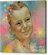Joana's Portrait Canvas Print