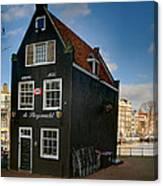 Jodenbreestraat 1. Amsterdam Canvas Print