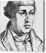 Johannes Bugenhagen Canvas Print