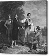 John Andre Canvas Print