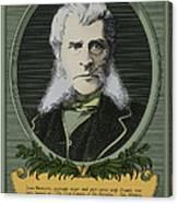 John Bigelow, American Diplomat Canvas Print