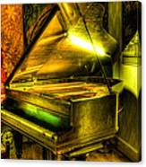 John Broadwood And Sons Grand Piano Canvas Print
