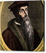 John Calvin, French Theologian Canvas Print