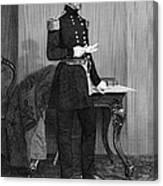 John Ellis Wool (1784-1869) Canvas Print