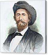 John H. Morgan (1825-1864) Canvas Print