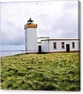 John O Groats Lighthouse Canvas Print