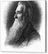 John Ruskin Canvas Print