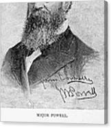 John Wesley Powell Canvas Print