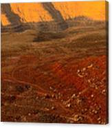 John's Canyon Road San Juan County Utah Canvas Print