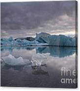 Jokulsarlon Glacier Iceland Canvas Print