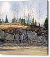 Jonesboro Cut Canvas Print