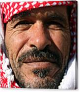Jordanian Man Canvas Print