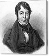 Joseph Grimaldi (1779-1837) Canvas Print