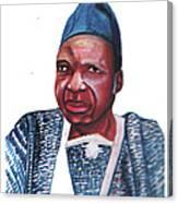 Joseph Ki-zerbo Canvas Print