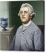 Josiah Wedgwood, British Industrialist Canvas Print