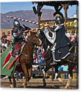 Joust To The End... Canvas Print