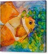 Juicy Snack IIi Canvas Print