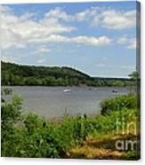 June Along The Connecticut River Canvas Print