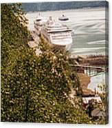 Juneau Alaska Canvas Print