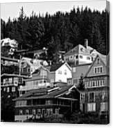 Juneau Homes Canvas Print