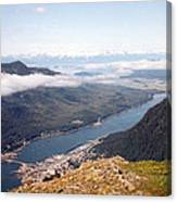 Juneau View Canvas Print