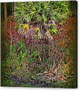 Jungle Palm Canvas Print