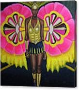 Junkanoo Androsia Canvas Print