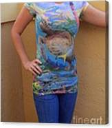 Jupiter Performance Ladies Shirt Canvas Print
