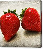 Just 2 Classic Berries Canvas Print