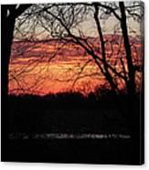 Just A Little Bit Higher -- Sunrise Canvas Print