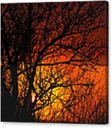 Just A Pretty Sunrise Canvas Print