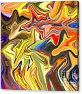 Just Abstract Viii Canvas Print