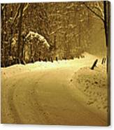 Just Around The Bend Canvas Print
