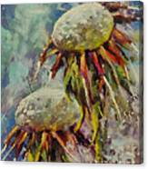 Just Dandelion Canvas Print
