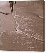 Just Walk Away Canvas Print