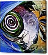 J.v. Wishin Fish 3 Canvas Print