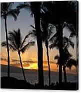 Ka'anapali Sunset Canvas Print