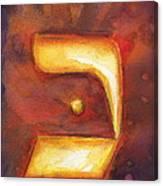 Kaf Canvas Print