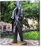 Kafka Monument Canvas Print