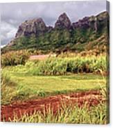 Kalalea Mountain Range Canvas Print