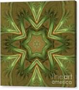 Kaleid Flower Canvas Print