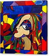 Kaleidoscope Girl Canvas Print