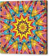 Kaleidoscope Series Number 7 Canvas Print