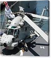 Kaman Sh-2g Sea Sprite Canvas Print