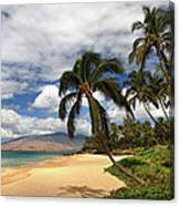 Kamaole Tropical Landscape Canvas Print